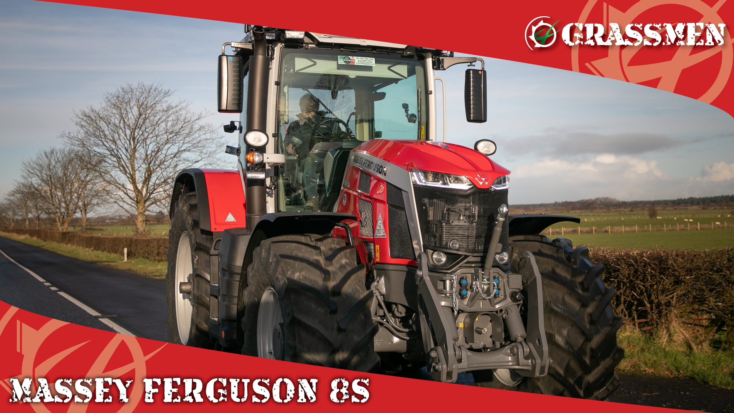 An Official Introduction to the Massey Ferguson 8S