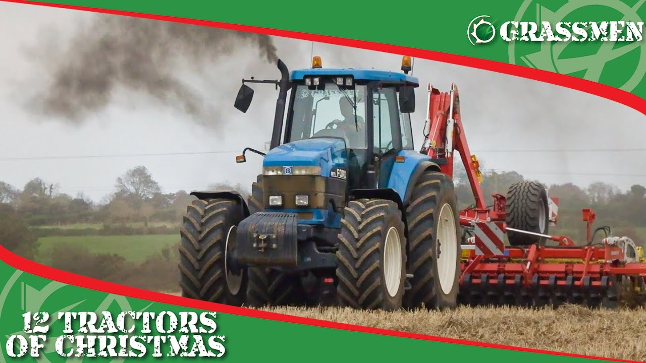FORD 8870 - 12 Tractors of Christmas