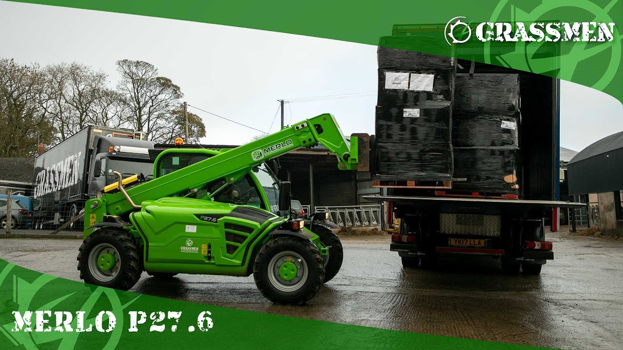 Our Thoughts on Our Merlo P27.6!