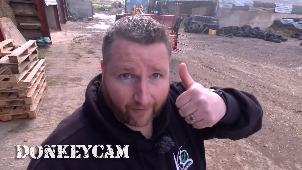 DONKEYCAM - The new JCB 420S