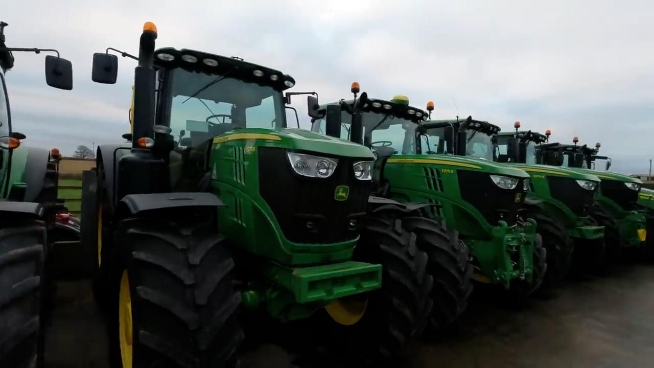 Parris Tractors tour