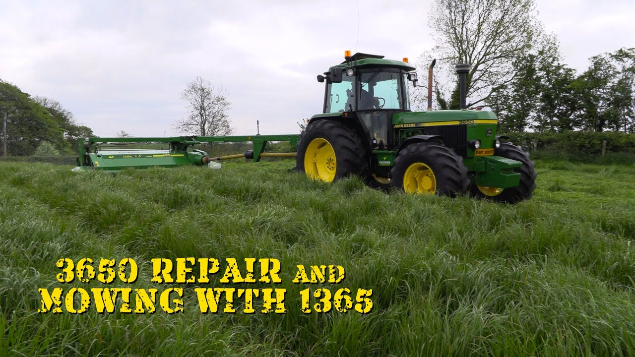3650 Repair and Mowing with the 1365