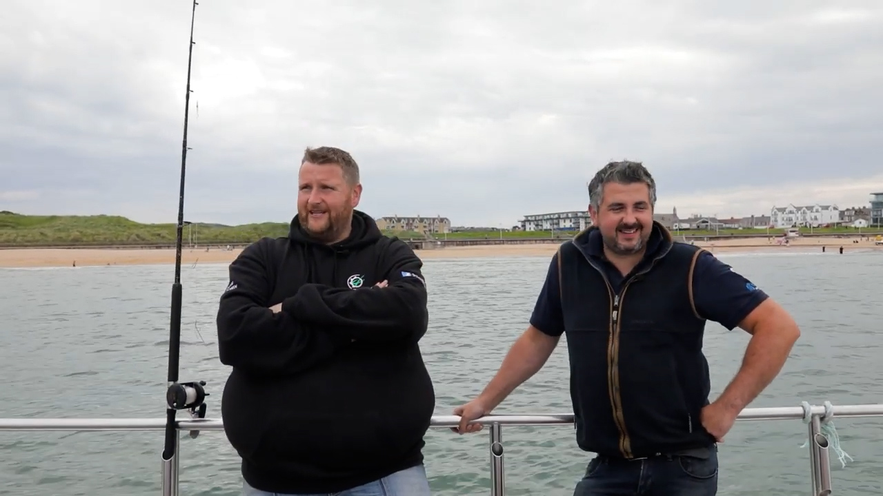 Donkey and Gary take to the seas for a better view