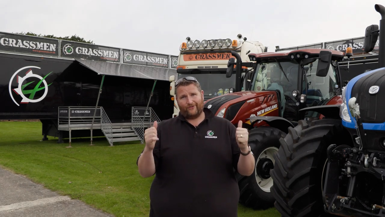 It's our first year at the Great Yorkshire Show!
