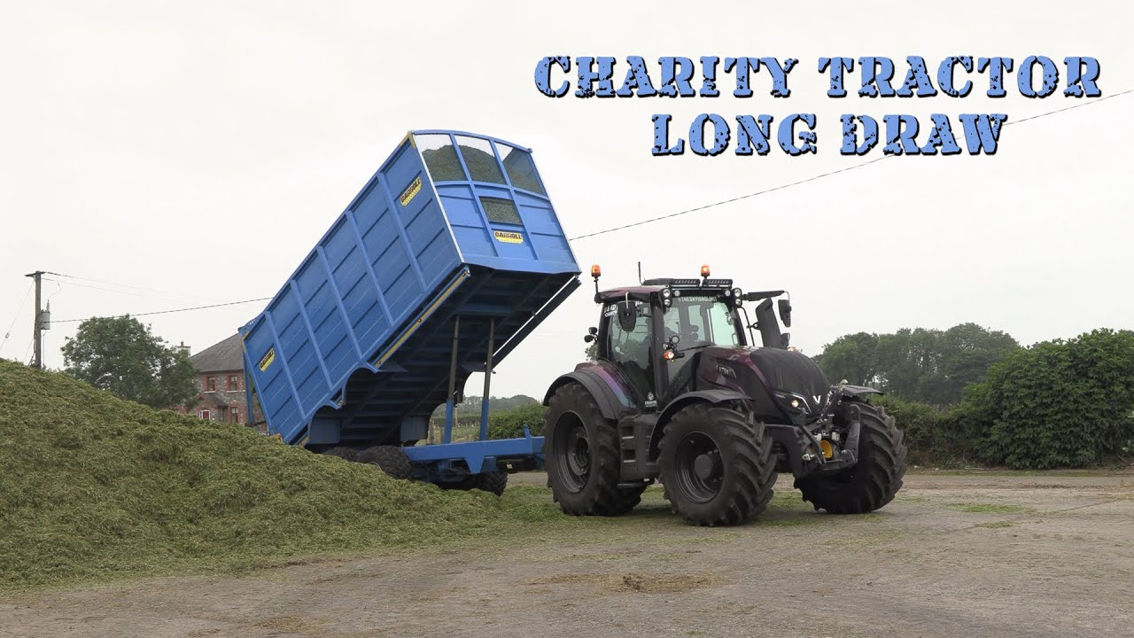 Charity Tractor Long Draw with Alan and P. Smith & Sons