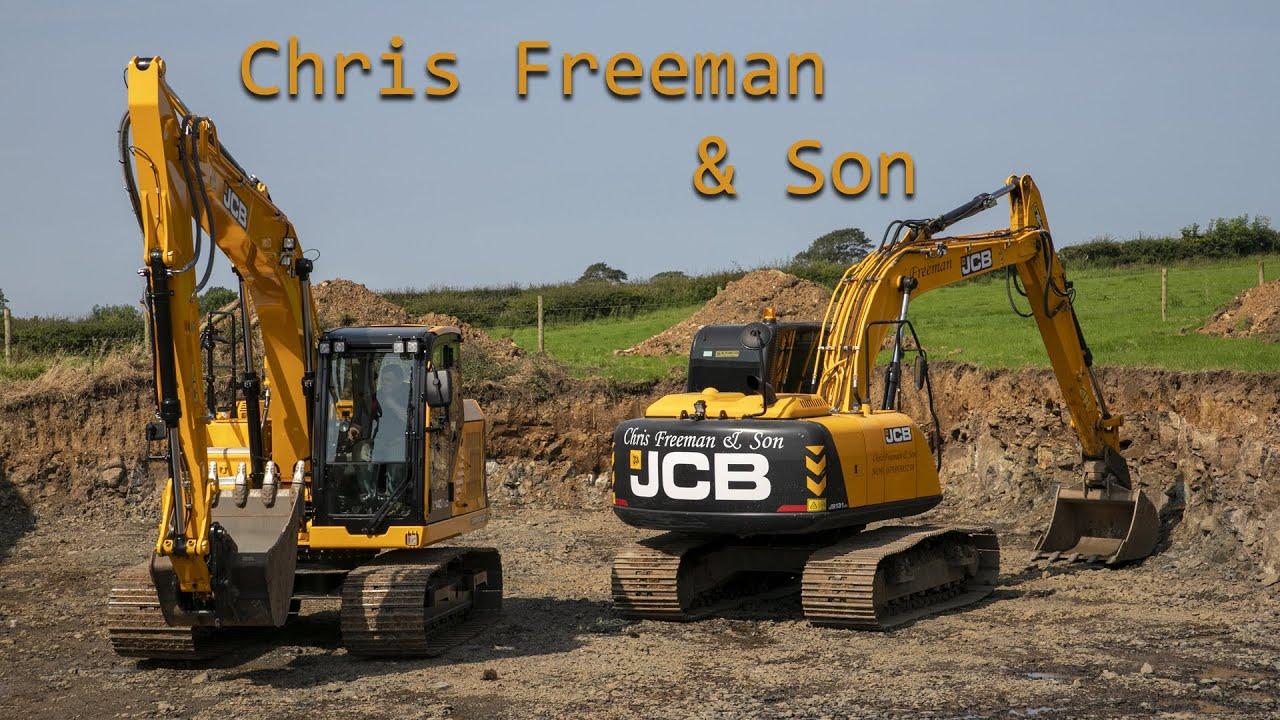 Chris Freeman & Son Demo the JCB 140X LC!