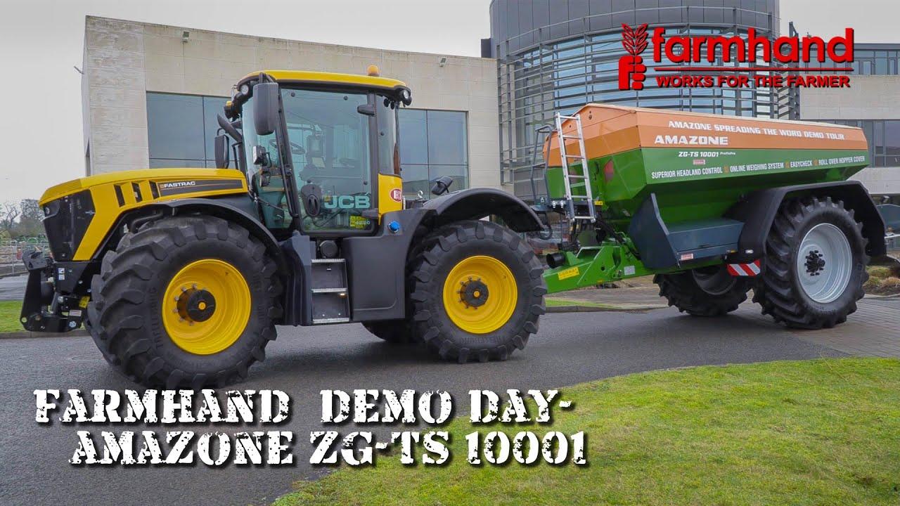 Farmhand Demo Tour - Amazone ZG-TS 10001 Fertiliser Spreader