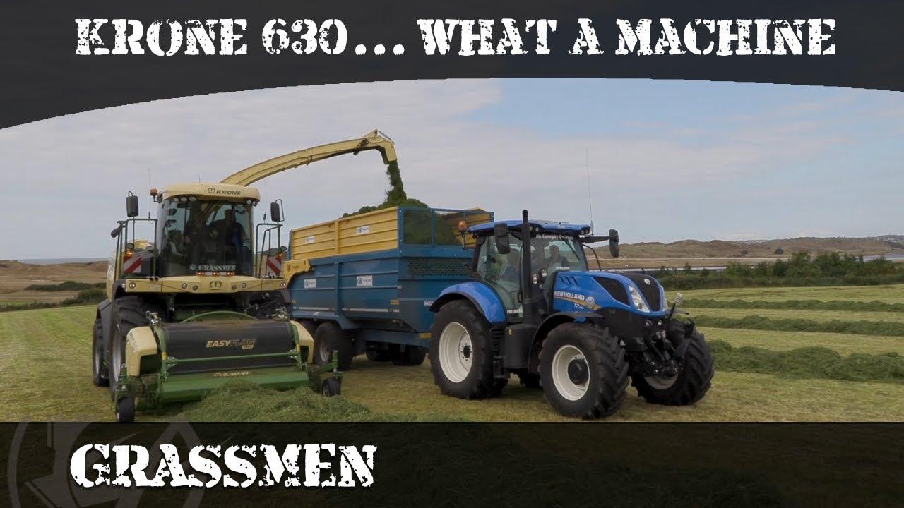 GRASSMEN Krone 630... what a machine!