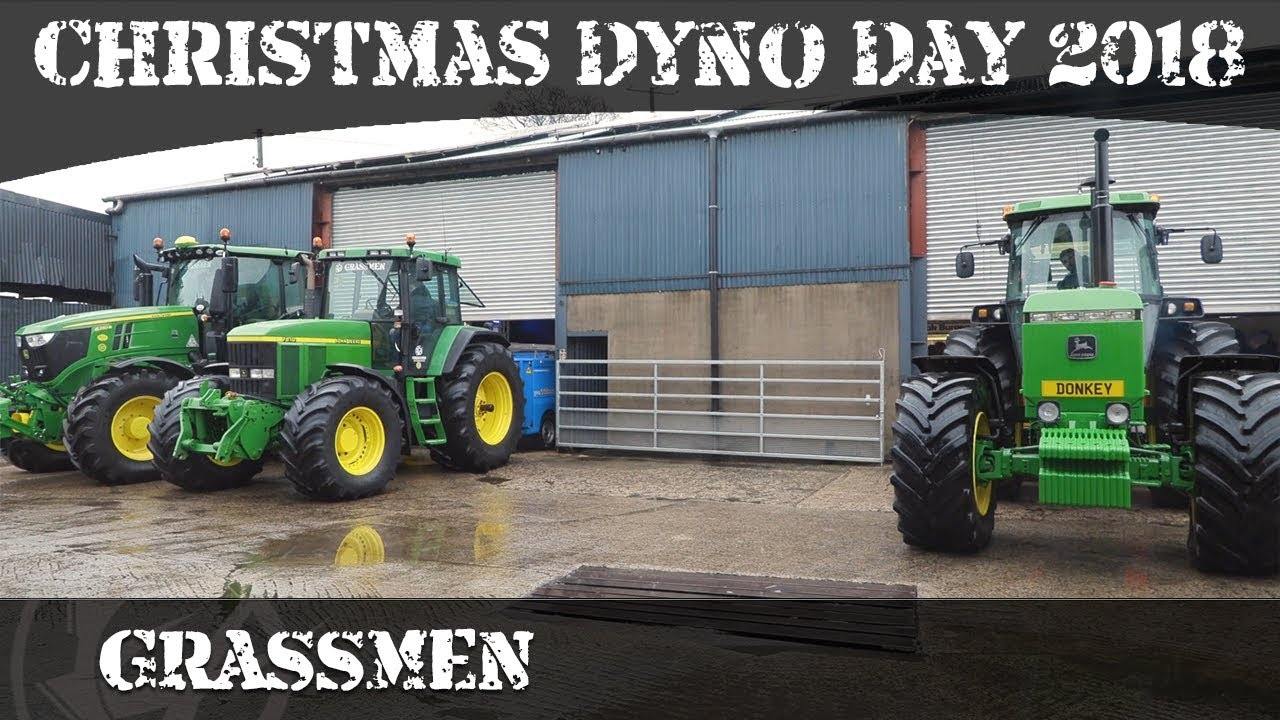 GRASSMEN TV - Christmas Dyno Day 2018