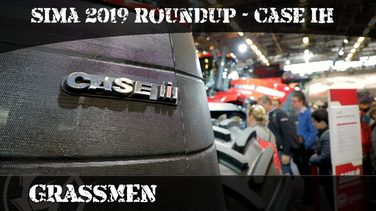 SIMA 2019 Roundup - Case IH Stand