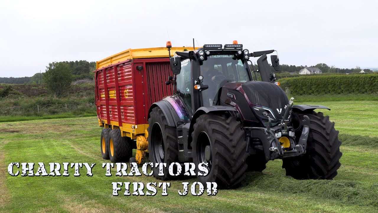 The Charity Tractors First Job!