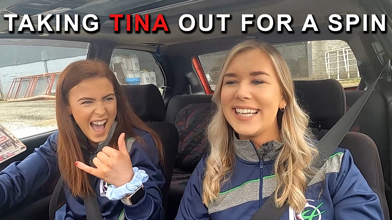 Taking Tina out for a spin!
