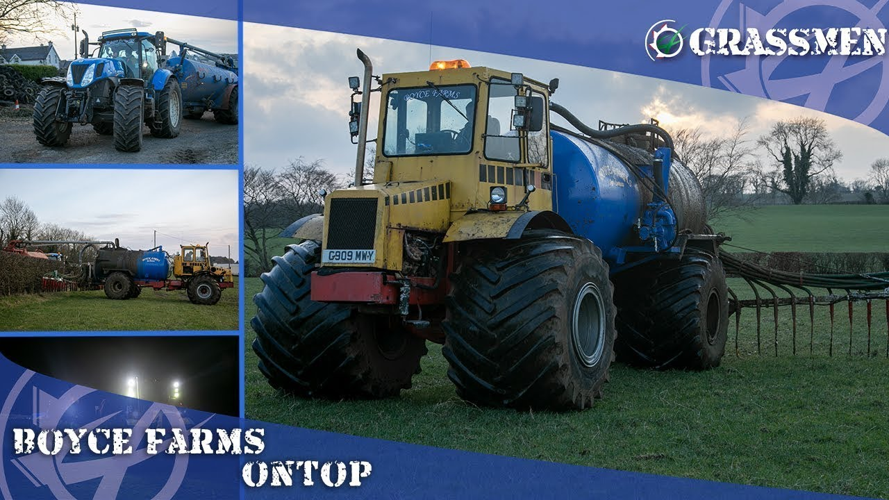 Keeping 'Ontop' of the Slurry with Boyce Farms!