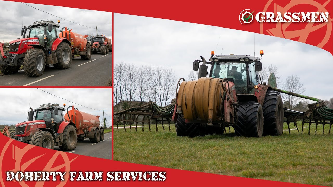 Slurry with Doherty Farm Services!