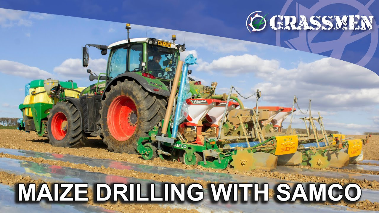 Maize Drilling with Samco - 71HD 3 in 1