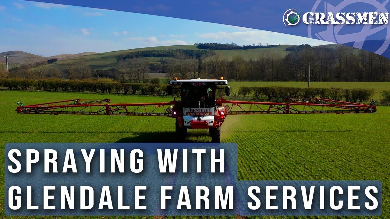 Glendale Farm Services - Spraying on the Scottish Border