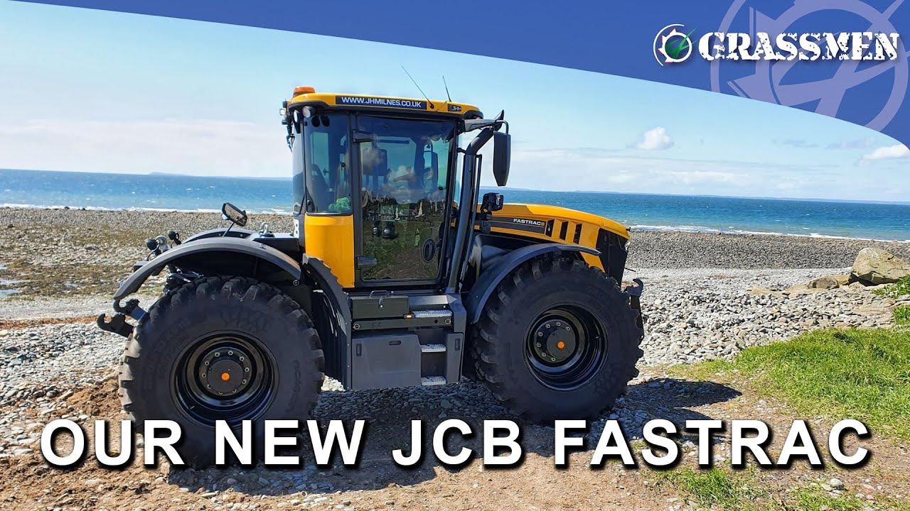 OUR NEW JCB FASTRAC 4220 - DONKEYCAM VLOG