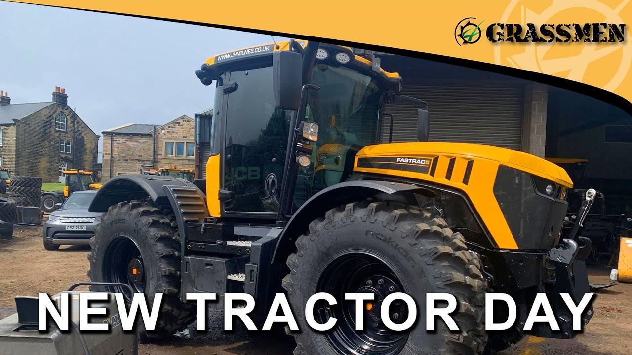 NEW TRACTOR DAY - 4220 FASTRAC GRASSMEN EDITION