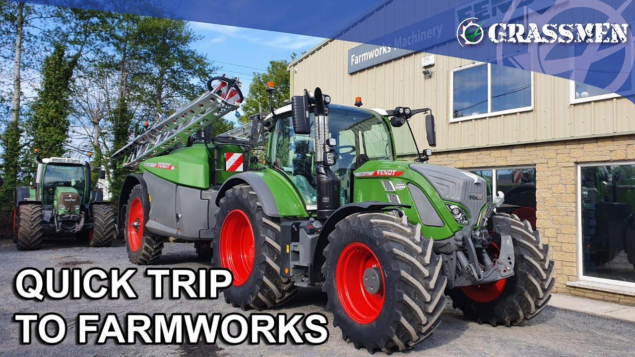 DONKEYCAM - Quick trip to Farmworks!