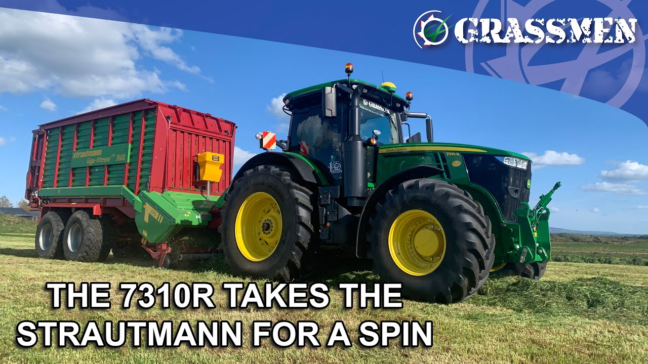 The 7310R takes the Strautmann for a spin