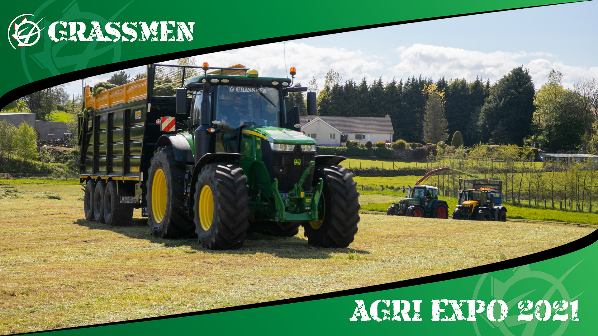 SILAGE AT THE BARN! - GRASSMEN AGRI EXPO DAY 4