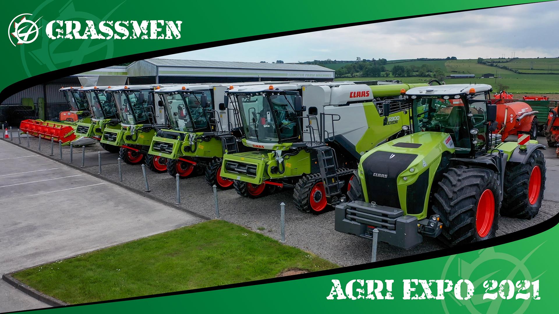 LEINSTER FARM MACHINES - GRASSMEN AGRI EXPO DAY 2
