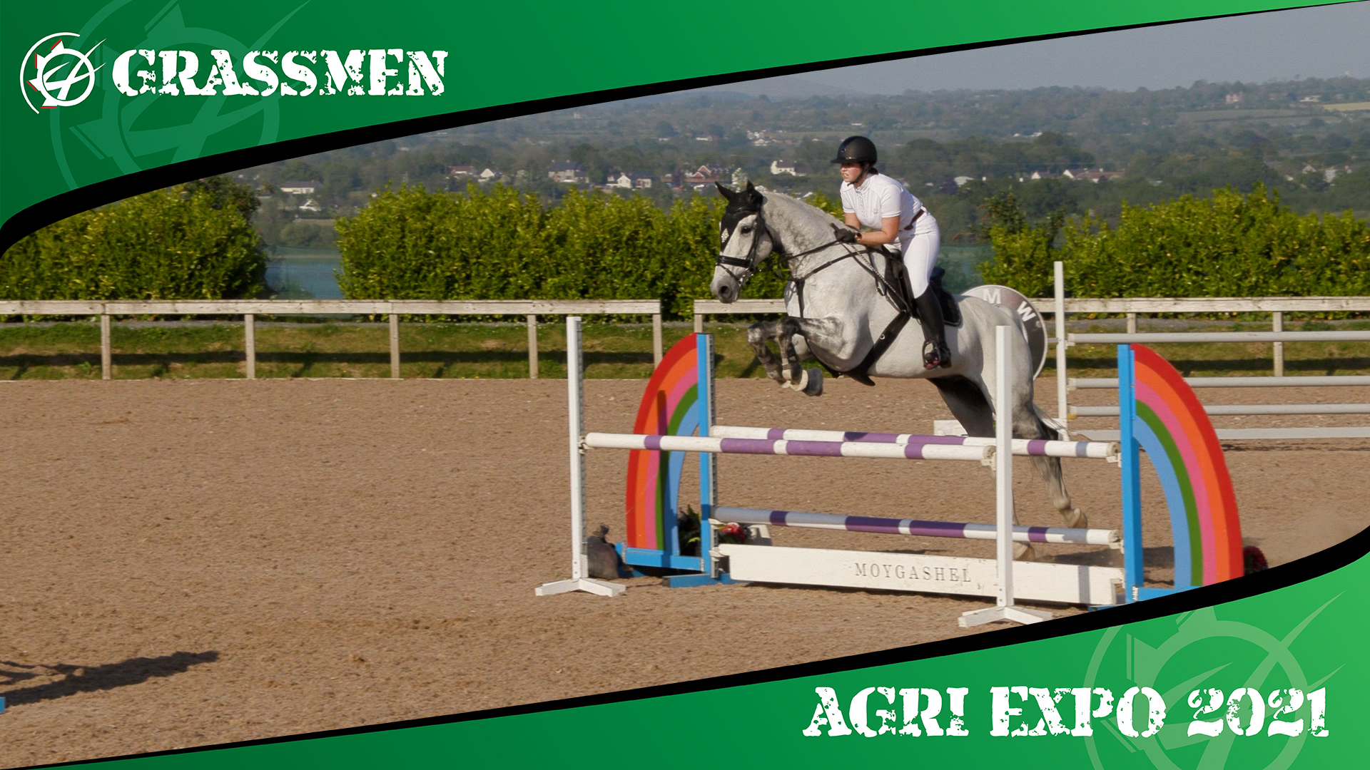 SHOW JUMPING WITH GERRY - GRASSMEN AGRI EXPO DAY 3