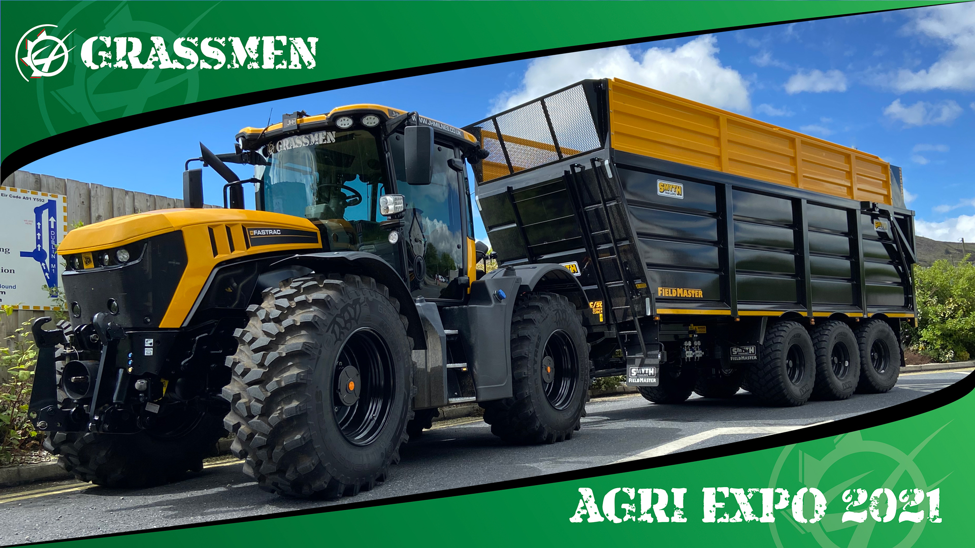 SMYTH TRAILERS - OUR NEW TRAILER - GRASSMEN AGRI EXPO DAY 1