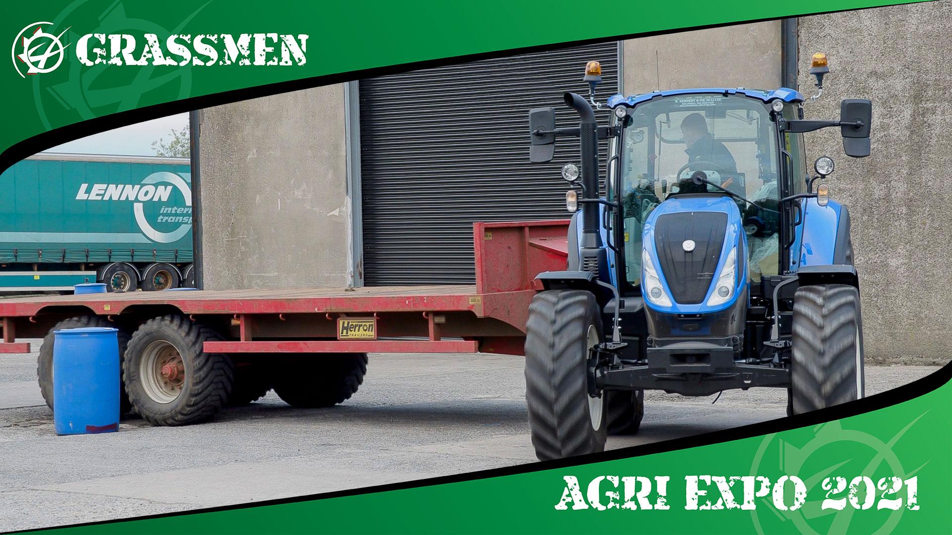 LISNAMURRICAN YFC TRACTOR HANDLING - GRASSMEN AGRI EXPO DAY 2