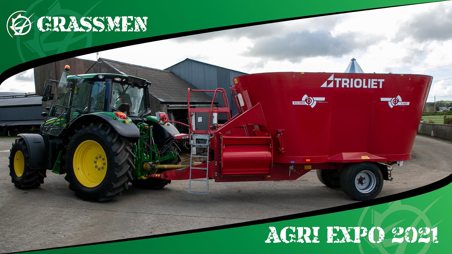 TRIOLIET FEEDER 2-1600 - GRASSMEN AGRI EXPO DAY 3