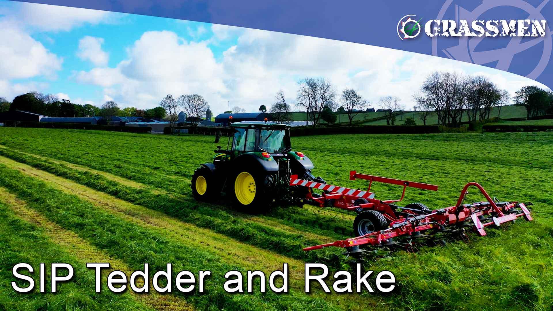 SIP Tedder and Rake - GRASSMEN
