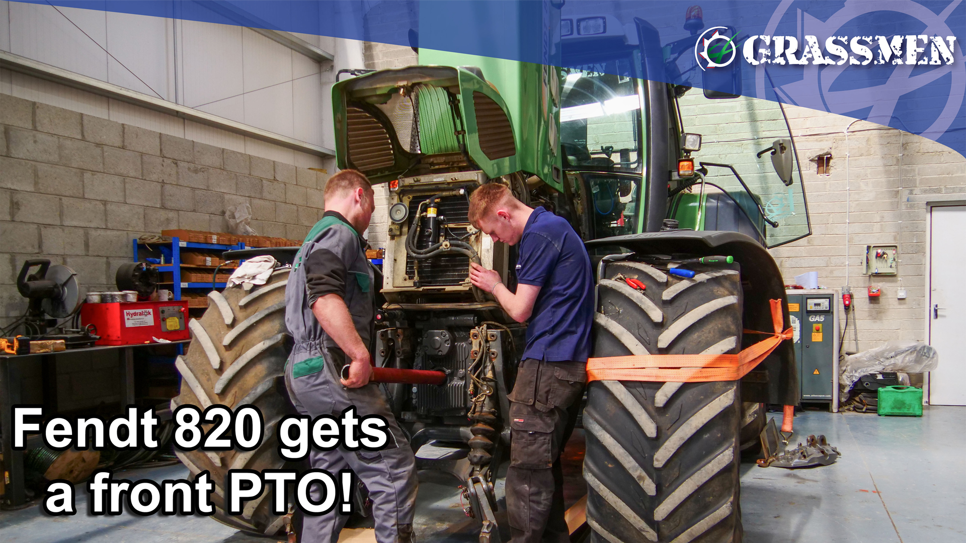 Fendt 820 gets a new PTO - Farmworks Machinery