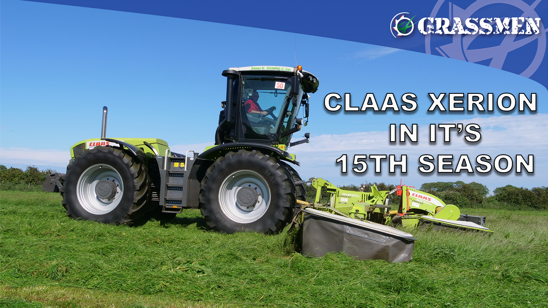 Claas Xerion in its 15th season