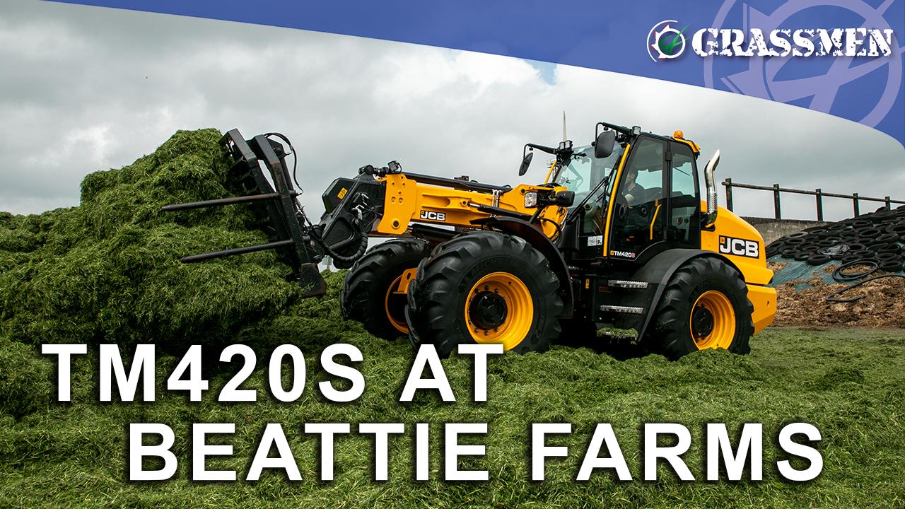 JCB TM420S at Beattie Farms!