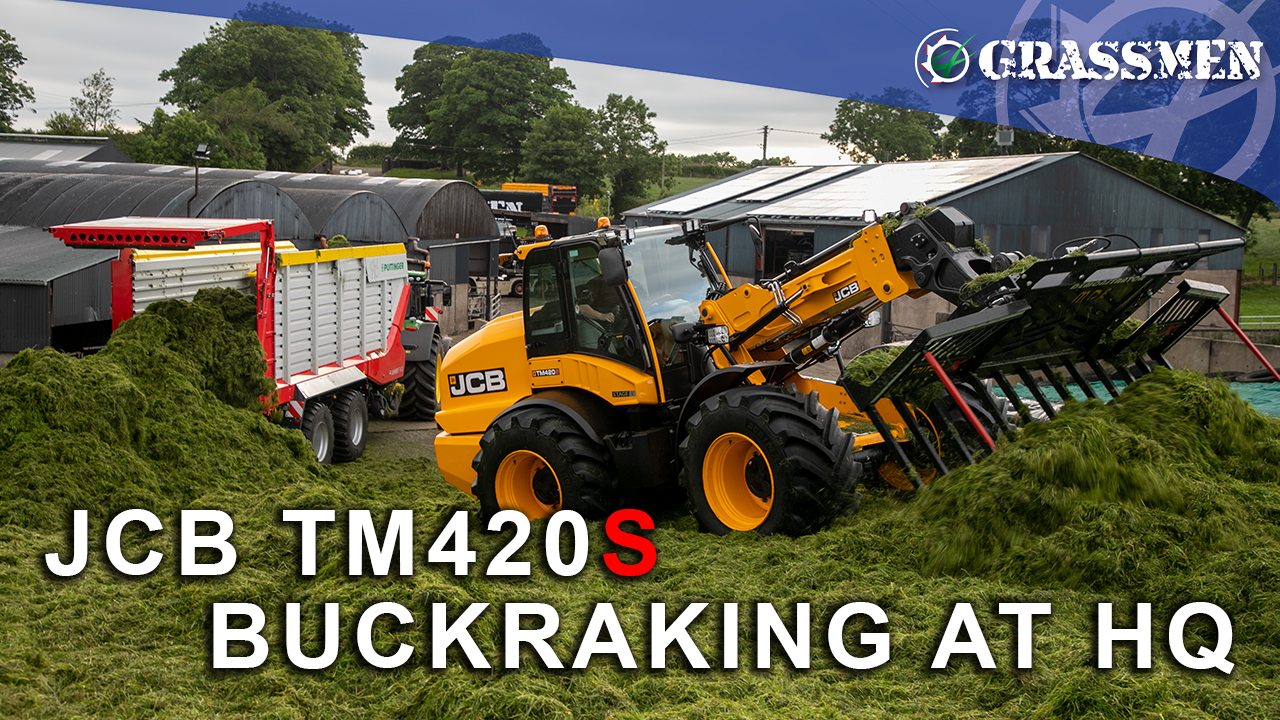 Donkey Puts the JCB TM420S to the Test at HQ!