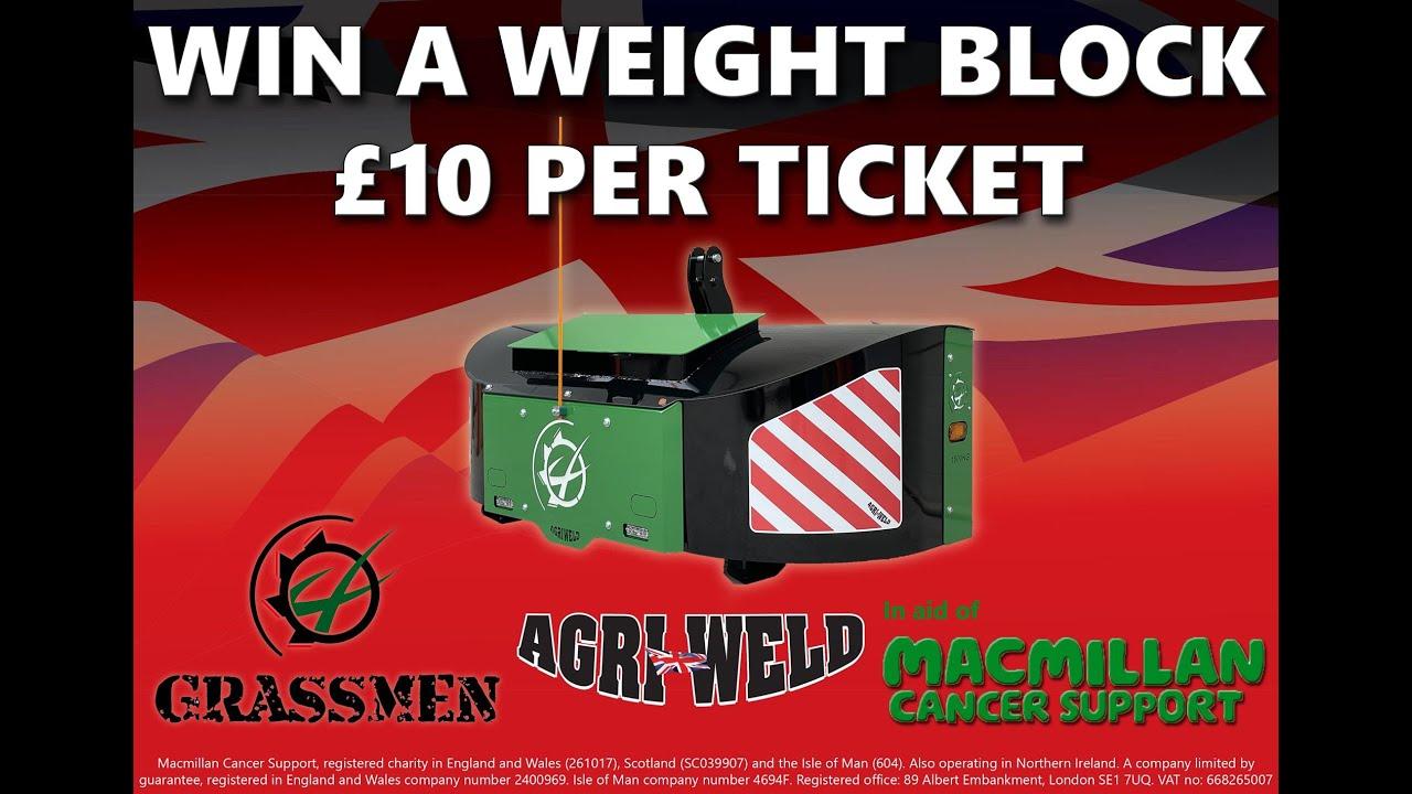 Agri Weld Charity Weight Block