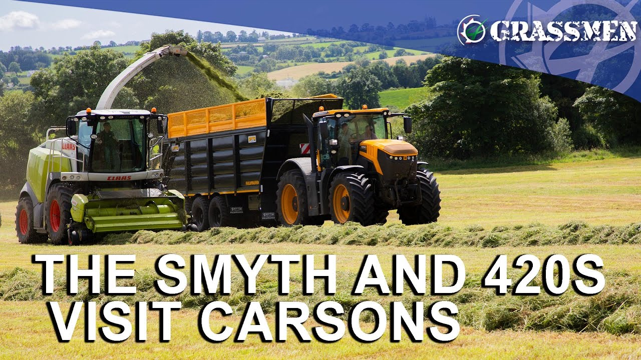 The Smyth And the 420S Visit Carsons' Farm