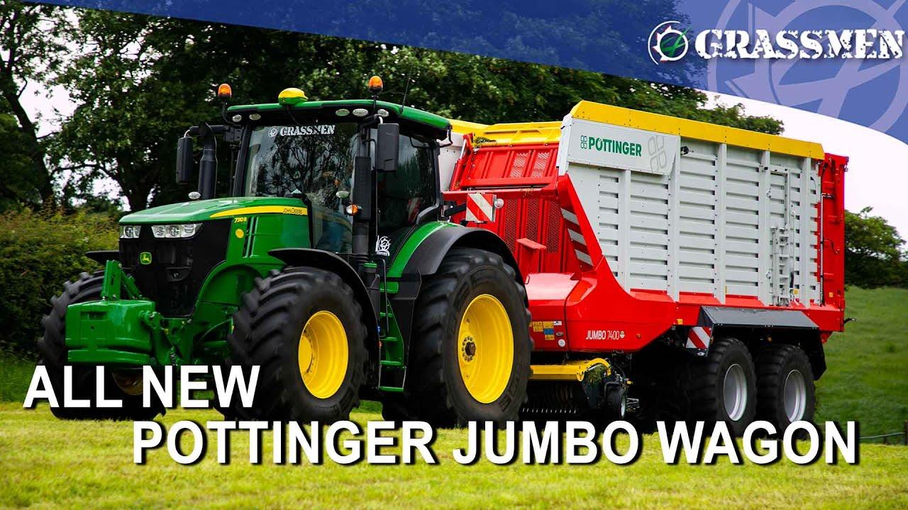 All New Pottinger Jumbo Wagon