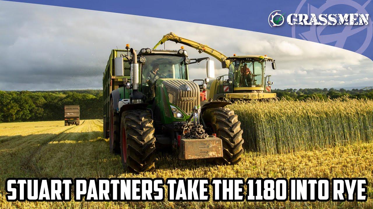 Stuart Partners tuck into rye!