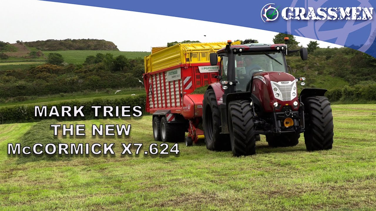 Mark tries out the new McCormick X7.624