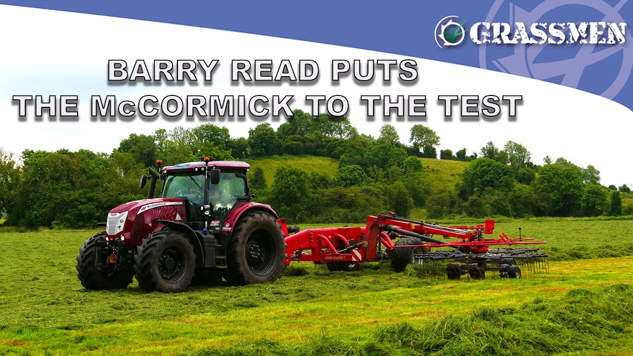 Barry Read puts the McCormick to the test