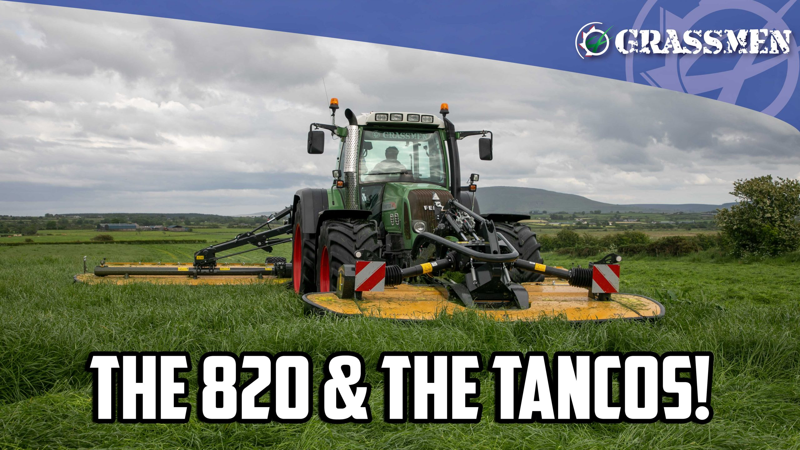 The 820 has a go on the Tancos!