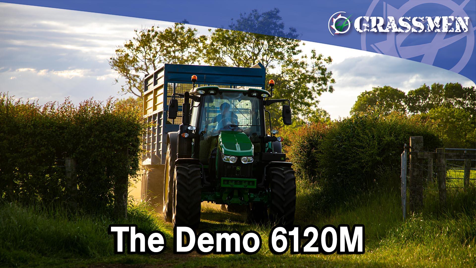 Johnston Gilpin & Co LTD's John Deere 6120M Demo!