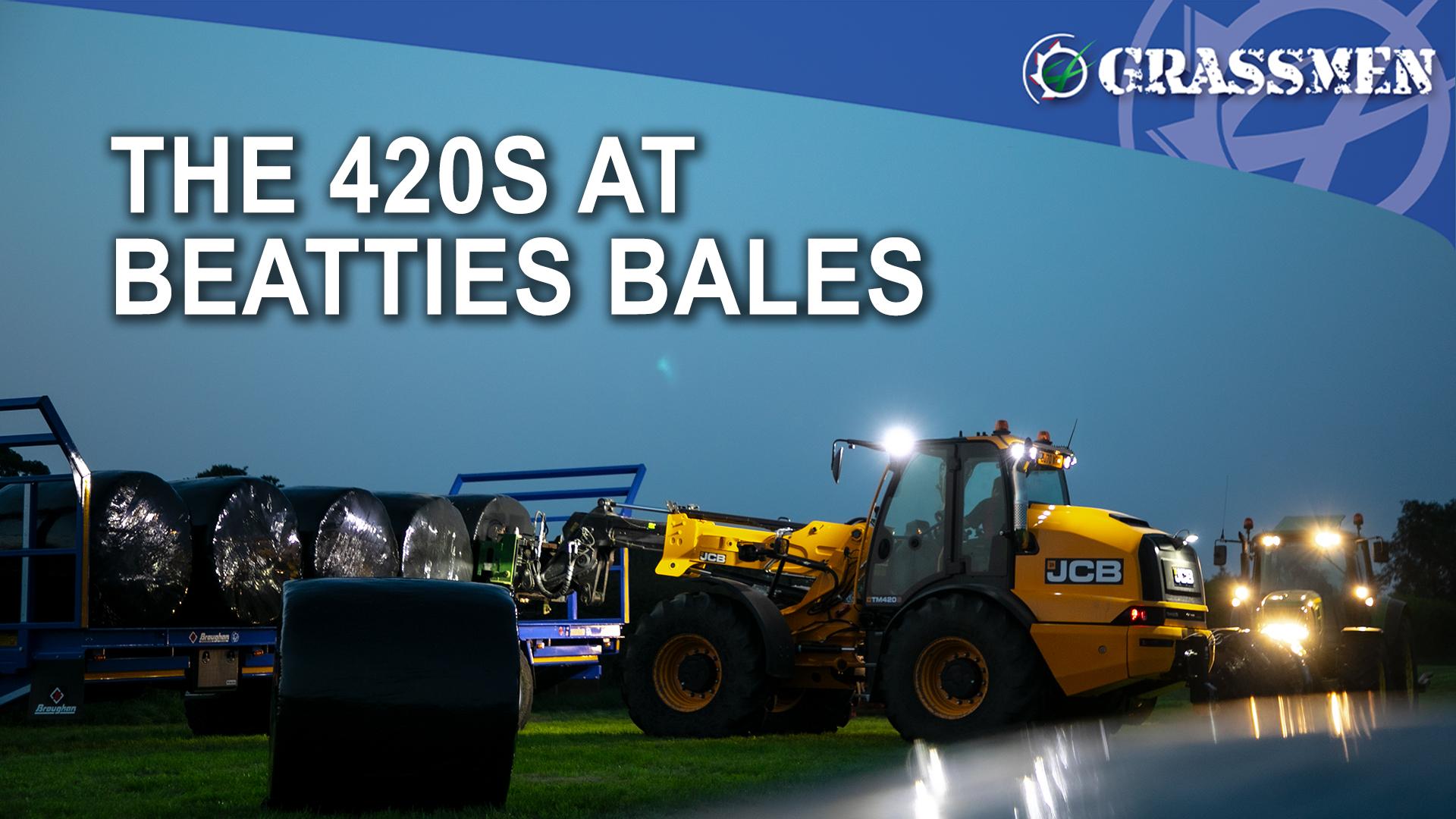 The 420S at Beatties bales