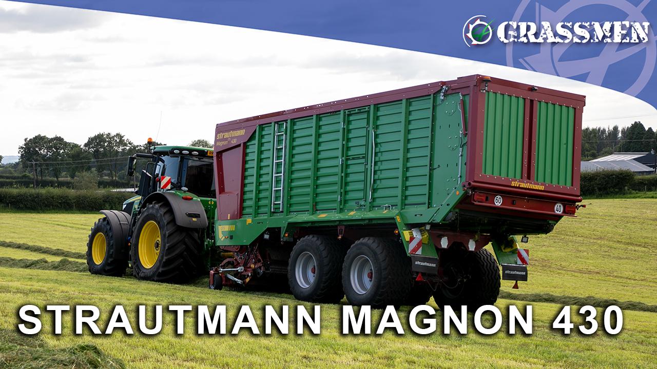 Strautmann Magnon 430 at Barn Silage!
